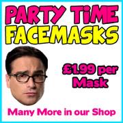 Leonard Big Bang Theory Celebrity Face Mask
