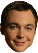 Sheldon Big Bang Theory Celebrity Face Mask