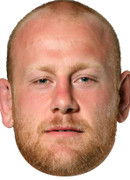 England Rugby Player Dan Cole Celebrity Face Mask