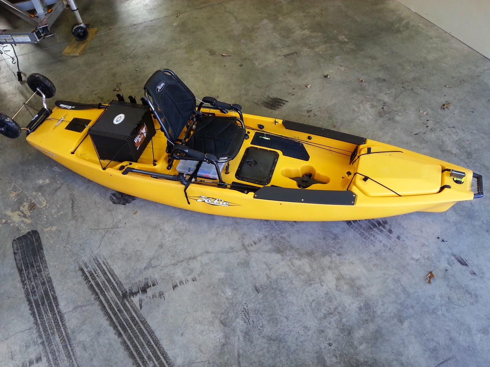 Hobie pro angler 12 delaware paddlesports for Kayak fishing tournaments near me