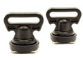 YakAttack Vertical Tie Downs, Track Mount, 2 pack