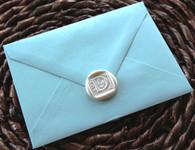 4-bar metallic envelope euro flap