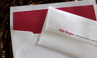 lined business envelopes