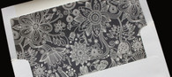 Patterned Envelope Liner - flower envelope liner