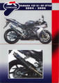 YAMAHA R1 04-06 Termignoni 4x2x1 GP Style Carbon Exhaust System