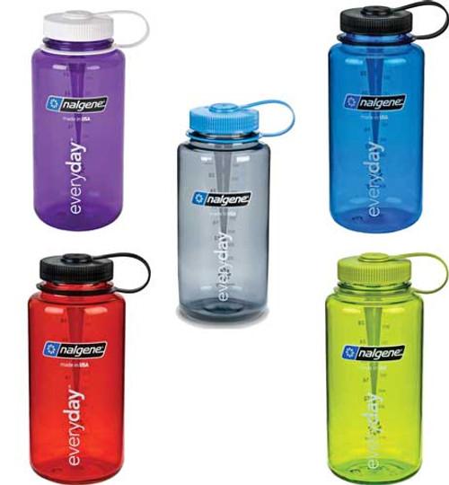 Nalgene 32 oz Wide Mouth Water Bottle Everyday Tritan