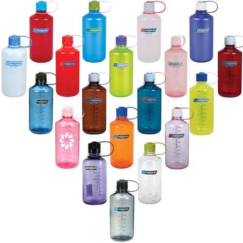 Nalgene Narrow Mouth Tritan Water Bottle 16 oz or 32 oz