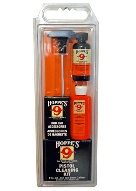 Hoppe's .38/.357/9mm Pistol Cleaning Kit PCO38B