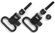 "Uncle Mikes 1"" Gun Sling Swivel & Stud 2 Pack 1001-2"