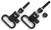 "Uncle Mikes 1 1/4"" Gun Sling Swivel & Stud 2 Pk 1001-3"