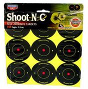 """2"""" Shoot N C Targets - Birchwood Casey AR5-12 Pack - 34210"""