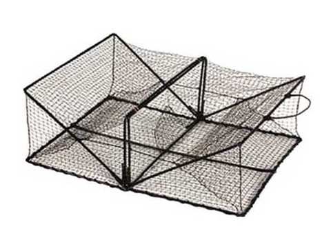 Promar crawdad and crab trap pot 24 x 18 x 8 collapsible for Fishing pole crab trap