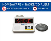 Sonic Alert HomeAware Fire/CO2/Phone/Clock Alerting System