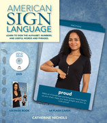 ASL Book/DVD : Learn to Sign the Alphabet, Numbers and Useful Words and Phrases