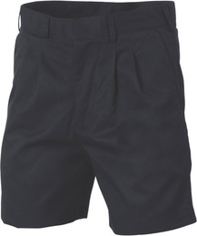 4501 - 275gsm Poly/Viscose Pleat Front Shorts