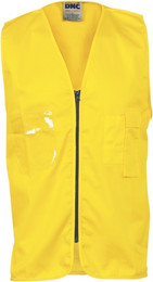 3808 - 190gsm Daytime Cotton Safety Vest     **CLEARANCE - LIMITED SIZES AVAILABLE**