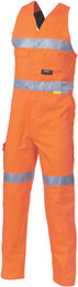 3857 - 311gsm HiVis Action Back Overall with tape