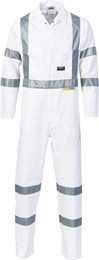3856 - 311gsm RTA Night Worker Coveralls w/Tape