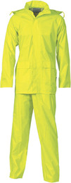 3708 - 170D Polyester/PVC Rain Set in Bag