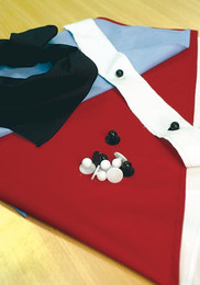 1751 - Buttons (10 per pack) for Chef Jacket