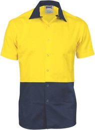 3941 - 190gsm HiVis Food Industry Shirt, S/S