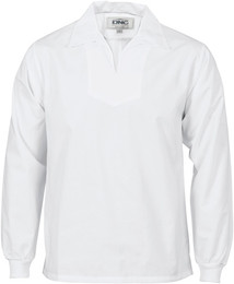 1312 - 200gsm V-Neck Food Industry Jerkin, L/S