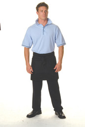 2111 - 200gsm Poly Cotton Short (1/4) Apron W/Pocket