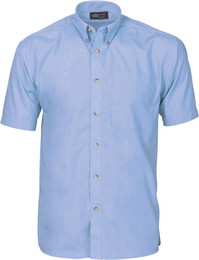 4121 - Chambray Business Shirt, S/S