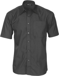 4131 - Poly Cotton Business Shirt, S/S
