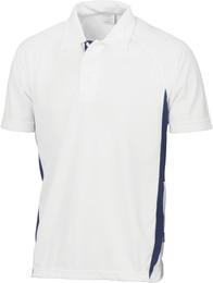 5221 - Adult Cool-Breathe Side Panel Polo Shirt