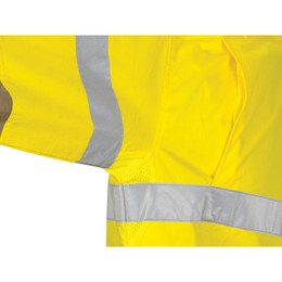 3784 HiVis L/W Cool-Breeze T2 Vertical Vented Cotton Shirt with Gusset Sleeves. Generic Tape - Long sleeve