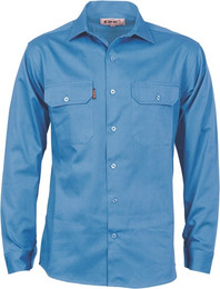 3209 - Drill Work Shirt, Gusset Sleeve, L/S