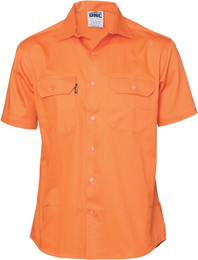 3207 - Cool-Breeze Work Shirt w/Vents, S/S