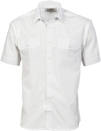 3211 - 110gsm Polyester Cotton Work Shirt - S/S