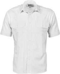 3213 - Epaulette Poly/Cotton Work Shirt - S/S