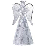 Modern glass angel handmade Christmas ornament
