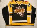 Johnstown Chiefs ECHL 1999-00 Black E.J. Bradley Heavy Knit Style!