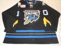 Springfield Falcons 2005-06 Black Dan Cavanaugh Nice Style!!