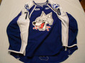Sudbury Wolves 2010-11 Blue Ryan Hanes Great Style!!