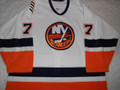 New York Islanders 2005-06 White Alexei Zhitnik Nice Style!!