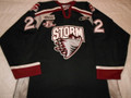 Guelp Storm 2005-06 black Harry Young Nice Wear 15 Year Patch!