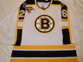 Boston Bruins 1998-99 White Tim Taylor 75th Team Patch Hammered w/ Repairs!!