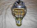 Vermont Catamounts 2008-09 Mike Spillane Mask Photomatched!!