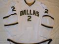 Dallas Stars 2009-10 White Nicklas Grossman Nice Style!!