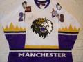 Manchester Monarchs 2004-05 White Dan Welch All-Star Patch!!
