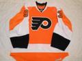 Philadelphia Flyers 2010-11 Orange Nikolai Zherdev Photomatched!!
