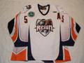 "Ontario Reign 2010-11 White Luke Beaverson W/ ""A"" Nice Wear!!"