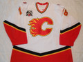 Calgary Flames 2005-06 White Matthew Lombardi 25th Patch Photomatched!!