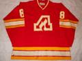 Atlanta Flames 1978-79 Red David Shand Great Wear!!