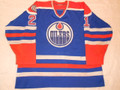 Edmonton Oilers 1981-82 Blue Randy Gregg Disabled Patch w/Repairs!!